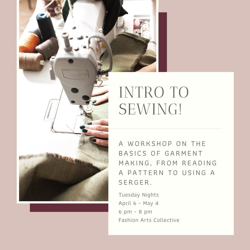 Omaha Nebraska Beginner Sewing Class