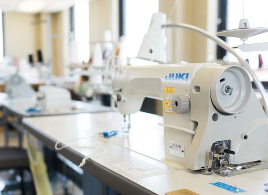 Industrial sewing machines free to the public at the Fashion Arts Collective Workroom